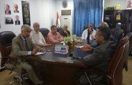 اجتماع علمي مع وزارة الصحة